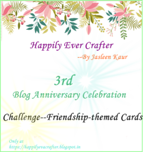 Friendship cards cahllenge