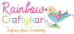 rainbow craftykari logo
