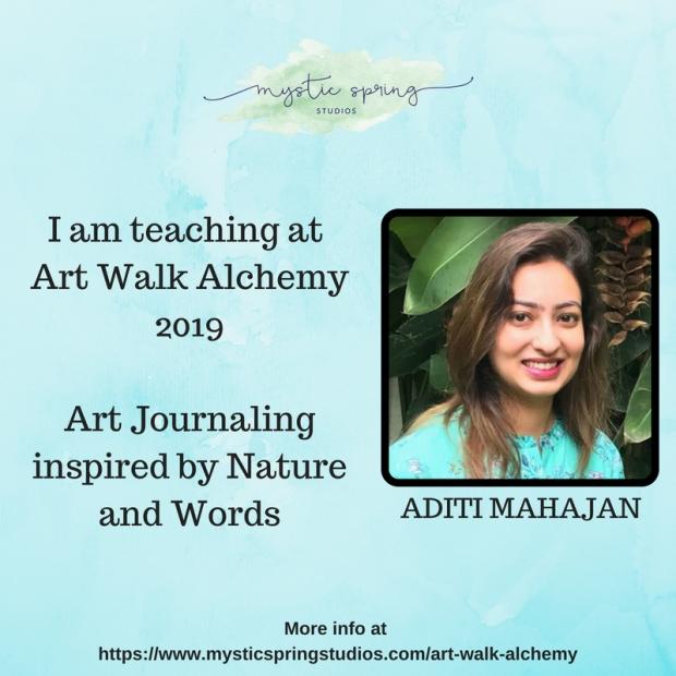 Aditi- Art Walk Alchemy