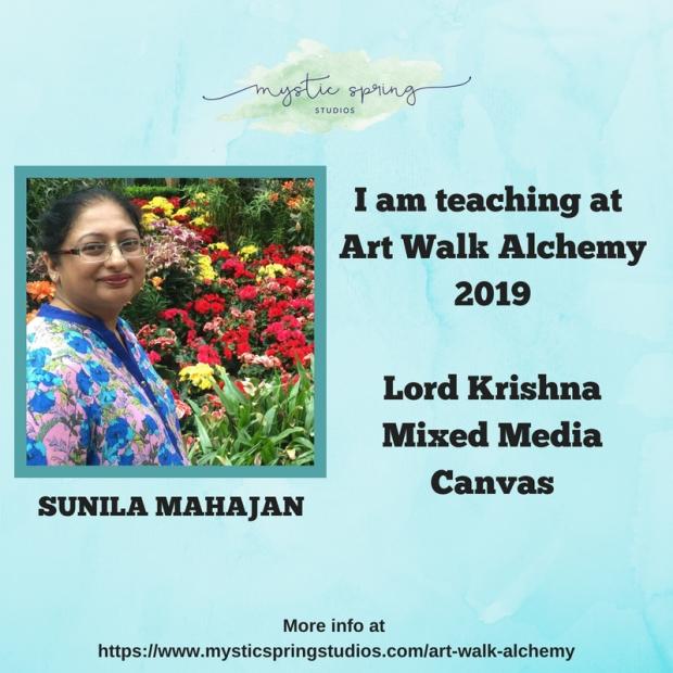 Sunila- Art Walk Alchemy