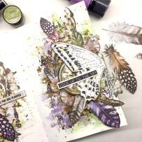 Art Journal_Aditi Mahajan_Dots to Lines_Mixed Media_Lindys_ABStudio_Finnabair3