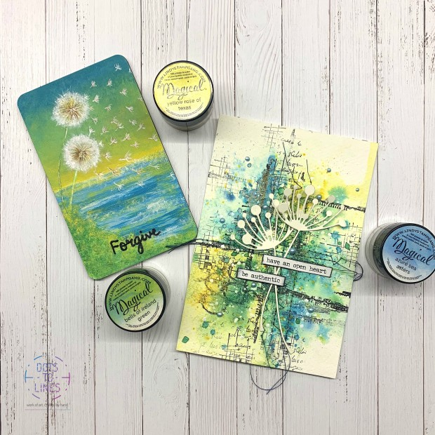Mindful Postcard_Dots to Lines-Aditi Mahajan_Lindys_Mixed Media1